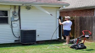 Convenient and affordable gas pressure washers