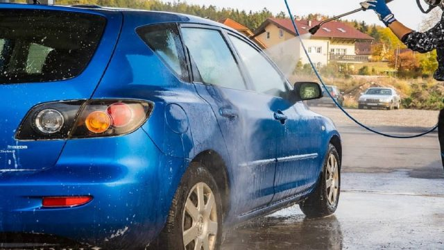 How to Wash a Car with a Pressure Washer